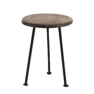 PTMD Chapati wood plant tafel iron base klein