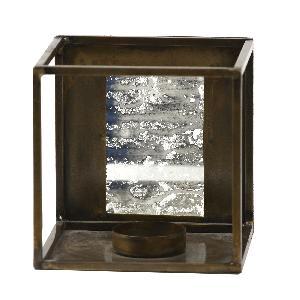 PTMD Nikky brass iron kaarsenhouder klein