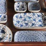 Riverdale Schaaltje floral blue 12cm_