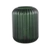 PTMD Larson green Glass table lamp motive round_
