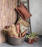 Knit Factory ' Kussen DAX ' ' New Camel ' 60 x 40 cm_