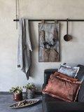 Knit Factory ' Kussen DAX ' ' Brique  ' 60 x 40  cm_
