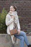 Knit Factory 'Gebreid Vest Sol' MAAT 36/38 'Beige '_