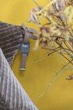Knit Factory ' Kussen Beau ' ' Taupe ' 60 x 40  cm_
