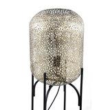 PTMD ' Jaimey Gold metalen staande lamp panter  '  M_