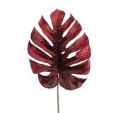 PTMD ' Leaves Plant Bordeaux velvet monstera blad ' _