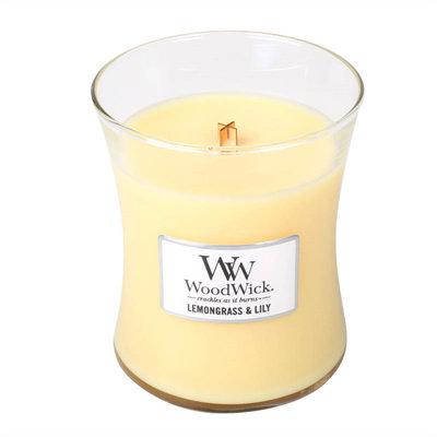 Woodwick 'Lemongrass & Lily' medium
