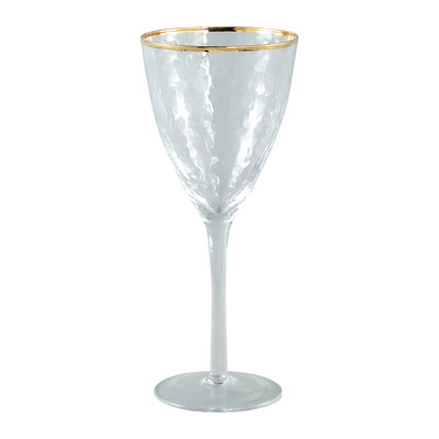 PTMD 'Mylene' Wijnglas Rode Wijn / Gold Border Red Wine Glass