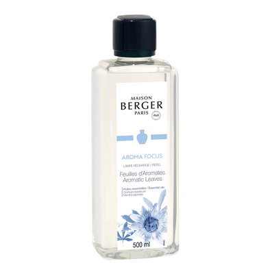 Lampe Berger AROMA FOCUS /  Feuilles d'Aromates / Aromatic Leaves 500ml