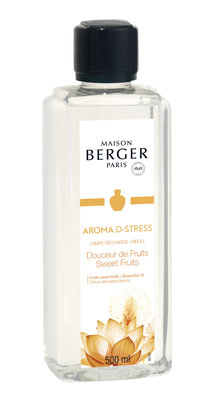 Lampe Berger AROMA D STRESS / Douceur de Fruits/Sweet Fruits 500ml
