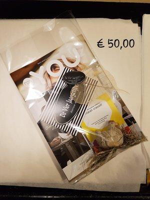 Cadeaubon t.w.v ( € 50,00 )