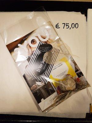 Cadeaubon t.w.v ( € 75,00 )