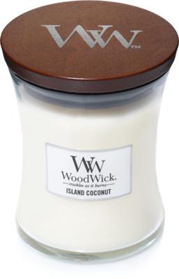 Woodwick 'Island Coconut' Medium