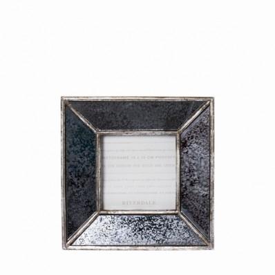Riverdale fotolijst vintage zilver 10x10 cm