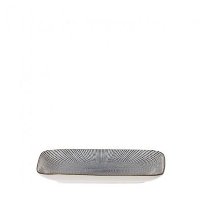 Riverdale bord Stripes  Rechthoekig  22 cm