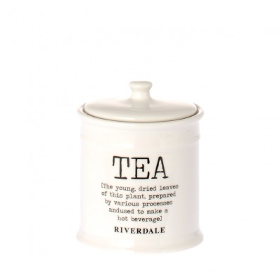 Riverale pot tea white