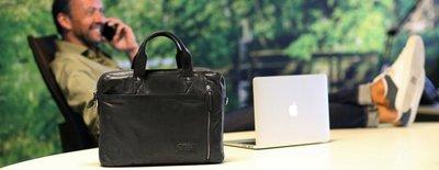 chabo detroit zwart laptop tas