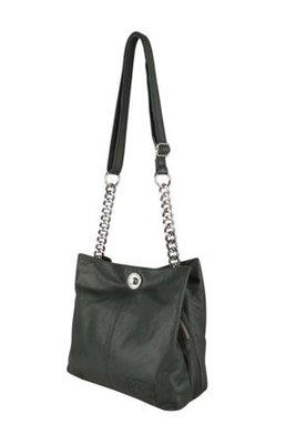 Chabo chain bag small black tas