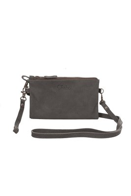 Chabo Luca bag wallet Elephant grey tas