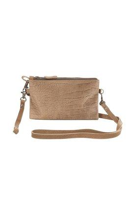 Chabo Luca bag wallet Crocco sand tas