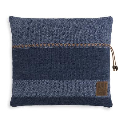 Knit Factory Roxx Kussen Jeans/Indigo (50 x 50 cm)