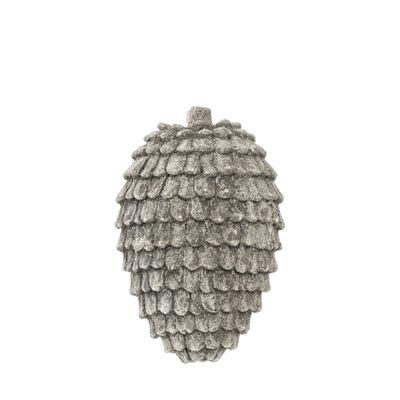 Riverdale Dennenappel Jolly grijs 21cm