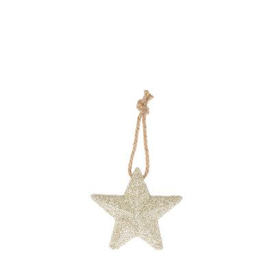 Riverdale Deco Star zilver 11cm