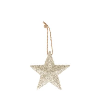 Riverdale Deco Star zilver 18cm