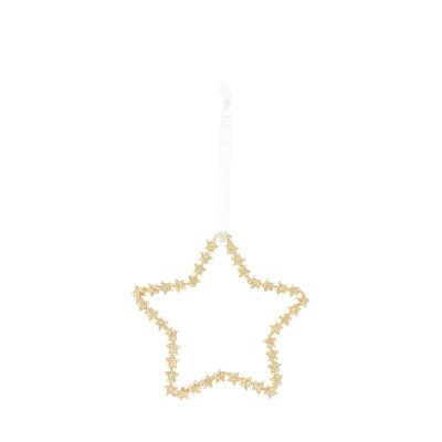 Riverdale Deco Star goud 20cm