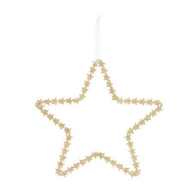 Riverdale Deco Star goud 20 cm