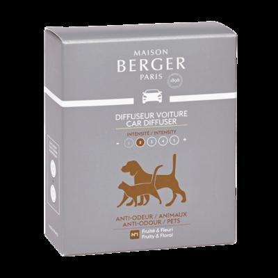 Lampe Berger autoparfum navulling 2 stuks anti-odour/pets