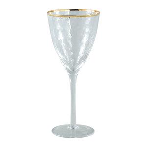 PTMD 'Mylene' Wijnglas Witte Wijn / Gold Border White Wine Glass
