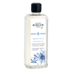 Lampe Berger AROMA FOCUS /  Feuilles d'Aromates / Aromatic Leaves 1L