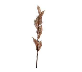 House of Nature ' Glittertak met bladen ' Koper