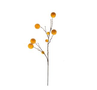 HomeSociety ' Zijde Tak met Gele Ballen '