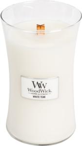 Woodwick 'White Teak' Large