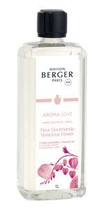 Lampe Berger ' AROMA LOVE ' Fleur Gourmande/Voracious Flower 1L