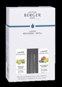 Lampe Berger ' Duopack Jonathan Adler Mr. & Mrs. ' Wilderness & Citrus Breeze ( Terre sauvage & Envolée d'Agrumes )