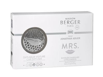 Lampe Berger ' Autoparfum Jonathan Adler Mrs. ' Envolée d'Agrumes / Citrus Breeze