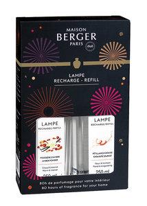 Lampe Berger ' Cercle ' Exquisite Sparkle & Amber Powder ( Pétillance Exquise & Poussiere D'Amber )