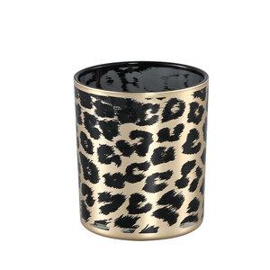 PTMD ' Desiree Goud glazen stormlicht Cheetah ' M