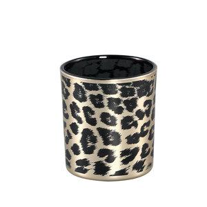 PTMD ' Desiree Goud glazen stormlicht Cheetah ' S