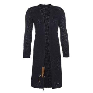 Knit Factory 'Gebreid Vest Luna' MAAT 40/42 'Navy '