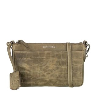 Burkely ' Croco Caia Crossover Clutch' ' Green '