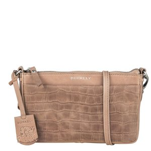 Burkely ' Croco Caia Crossover Clutch' ' Taupe '
