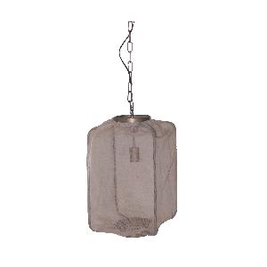 ptmd Kyla metal hanging lamp square