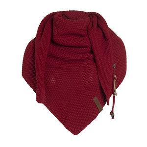 Knit Factory 'Omslagdoek Coco ' ' Bordeaux  '