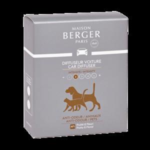 Lampe Berger ' Autoparfum ' Anti-Odour Dierenluchtjes /anti mauvaises odeurs animaux