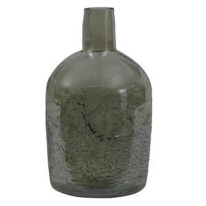 Ptmd flesvormige vaas groen groot